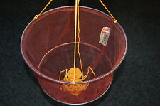 HOOKZONLINE CRAB DROP NET with BAIT CLIP & ROPE - SAFE CRABBING