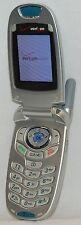 LG VX5200 SILVER Flip Open Style Cell Phone VGA Camera Verizon texting C 1xRTT