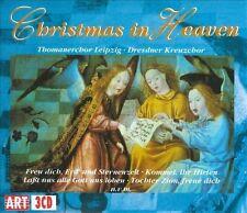 Christmas In Heaven: Dresden & Leipzig Choirs (3CD's, 1995, ART) VERY GOOD