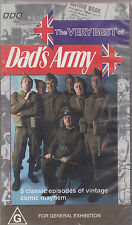 PAL VHS VIDEO TAPE : THE VERY BEST OF DAD'S ARMY,5 CLASSIC EPISODES