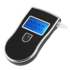 Police Digital LCD Alcohol Breath Tester Breathalyzer Analyzer Detector w/Bag
