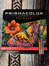 PRISMACOLOR PREMIER COLORED PENCIL SET 48ct BRAND NEW FREE SHIPPING