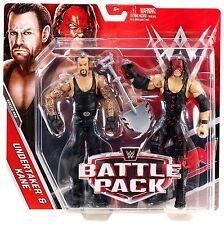 WWE WRESTLING FIGURE MATTEL BATTLE PACK UNDERTAKER & KANE WITH SHOVEL BOXED NEW