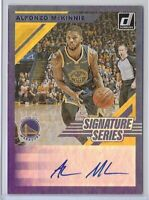 2019-20 Donruss Alfonzo McKinnie Signature Series SP Auto No. SS-AFM