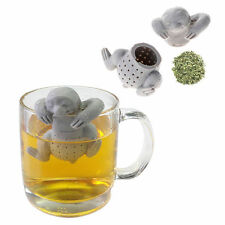 Novelty Sloth Tea Infuser Silicone Leaf Strainer Herbal Spice Filter Diffusernew