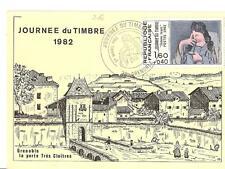 Jounée du Timbre - Carte locale Grenoble 1982