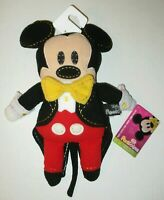 NEW Disney Parks Pook A Looz Mickey Mouse in Tuxedo 40th Anniversary Plush NWT