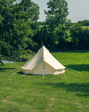5M Bell Tent Ultra Light 22KG with Groundsheet & Oxford Fabric - No Mould or ...