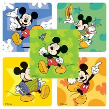20 Mickey Mouse Music STICKERS Party Favors Teacher Supplies Treat Bags Birthday