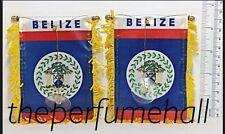 Belize Flag Honduras Flag Mini Banner Car rear view mirror glass window
