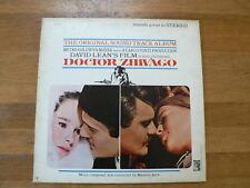 LP RECORD VINYL DOCTOR ZHIVAGO ORIGINAL SOUND TRACK JARRE MGM  INSIDE POSTER