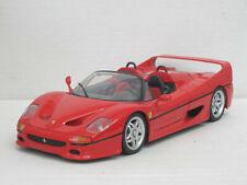 Ferrari F 50 Cabrio in rot, Maisto, ohne OVP, 1:18
