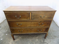 antique,mahogany,edwardian,2 over 2,chest of drawers,legs,drawers,square legs,
