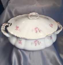 VINTAGE THEODORE HAVILAND & CO. LIMOGES BEAUTIFUL COVERED SOUP TUREEN