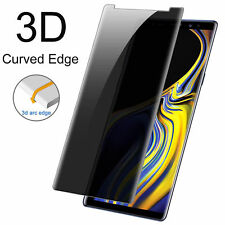 Privacy Tempered Glass Screen Protector 3D Anti-Spy Fr Samsung Galaxy S8 S9 Plus
