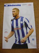 19/09/2012 Sheffield Wednesday v Huddersfield Town (Item In Good Condition)