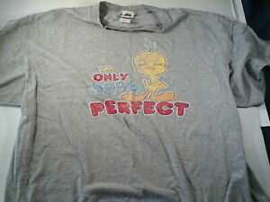 Vintage 90s Freeze Looney Tunes Tweety Bird T Shirt XL