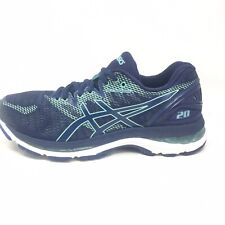 Asics Gel-Nimbus 20 Athletic Running Sneakers Blue Womens Shoe Size 7 M (B)