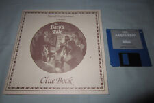 Bard's Tale I 1 Tales of the Unknown - Commodore Amiga Computer Game w/Clue Book