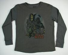 Star Wars Long Sleeve Tshirt Grey Mens Size XL