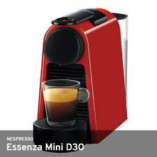 Nespresso Essenza Mini D30 18 Bar 0.6-Liter 220~240V only  Free UPS / Red