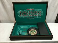 "Folding Black Jack  Craps Poker Roulette Portable Travel Game "" Las Vegas Style"