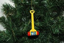 Fisher Melody Push Chime Christmas Ornament
