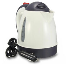 12V ELECTRIC CAR KETTLE TRAVEL CAMPING CARAVAN BOILING WATER SOCKET TEA COFFEE