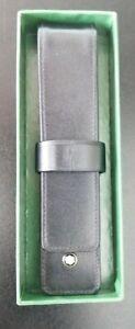Mont Blanc Leather Single Pen Pouch Holder.