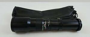 Kalimar 1:8 F=500mm Lens W/ Case