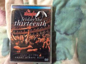 Stranglers Friday The Thirteenth DVD Live At The Royal Albert Hall