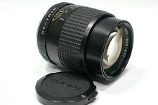 Contax Yashica fit Tokina RMC 135mm 1:2.8 lens C/Y camera mount