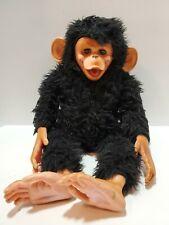 E1 Vintage Gund 1971 Monkey Chimpanzee Ape With Sleepy Eyes