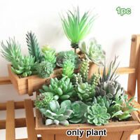Bonsai Artificial Plants Lifelike Plant Simulation Succulents Fake Flowers