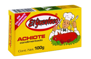 El Yucateco Achiote Paste - Annatto Seasoning 100g - CHILLIESontheWEB