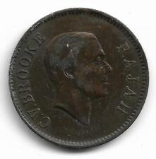 Sarawak Rajah C.V. Brooke One Cent Coin - 1930 ! ! !