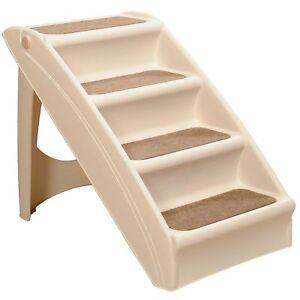 Solvit PupSTEP + Plus Pet Stairs tan