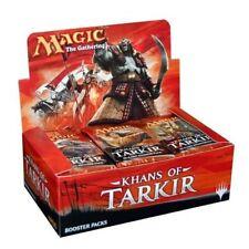 MTG Magic the Gathering Khans of Tarkir 36 booster box sealed ENGLISH