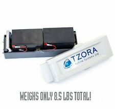 Lithium Battery Pack Assembly + Charger for TZORA Travel Mobility Scooters