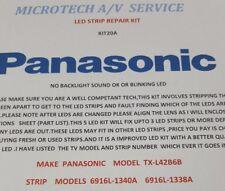 PANASONIC TX-L42B6B 6916L-1338A 6916L-1340A  25  PIECE LED REPAIR KIT20A