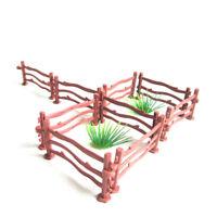 10xKinder Military Sand Szene Spielzeug Zubehör Simulation Doppelhaken Zaun sp