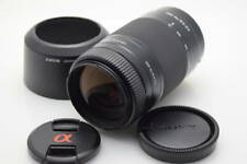 SONY  75-300mm F4.5-5.6  SAL-75300 A-mount with Hood shipping from Japan