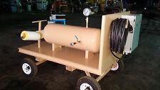 3kw Manual Water Cart With Tank and Chromalox Cir-5Xx-Kiii Heat Control