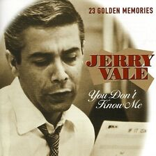 Jerry Vale - You Don't Know Me [New CD] Holland - Import