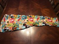 Walt Disney Multi Color and Multi Character Scarf Womens