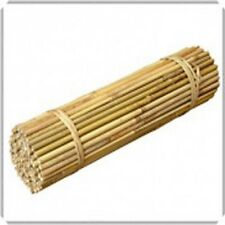 50x 5ft BAMBOO CANES Pack of 50 Canes Garden Poles 16-18mm (e1505)