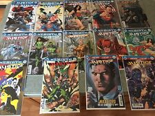DC REBIRTH Justice League #1 2 3 4 5 6 7 8 9 10 11 12 13 14 15 & JL REBIRTH #1