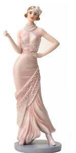 Daisy Blush Pink Glitter Charleston Broadway Belles Figurine WB60515