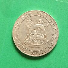 1918 George V Silver Shilling SNo50164