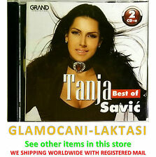 2CD TANJA SAVIC BEST OF compilation 2017 folk srbija narodna muzika novo grand
